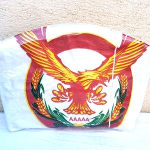 trousse de toilette blanche aigle sac de marchandise